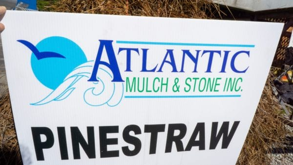 Pine Straw Sign scaled